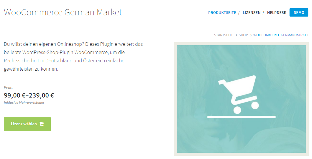 WooCommerce German Market