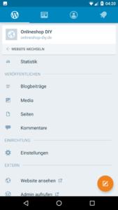 WordPress-App