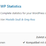 Statistik für WordPress