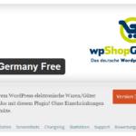 Shop-Plugin in WordPress installieren