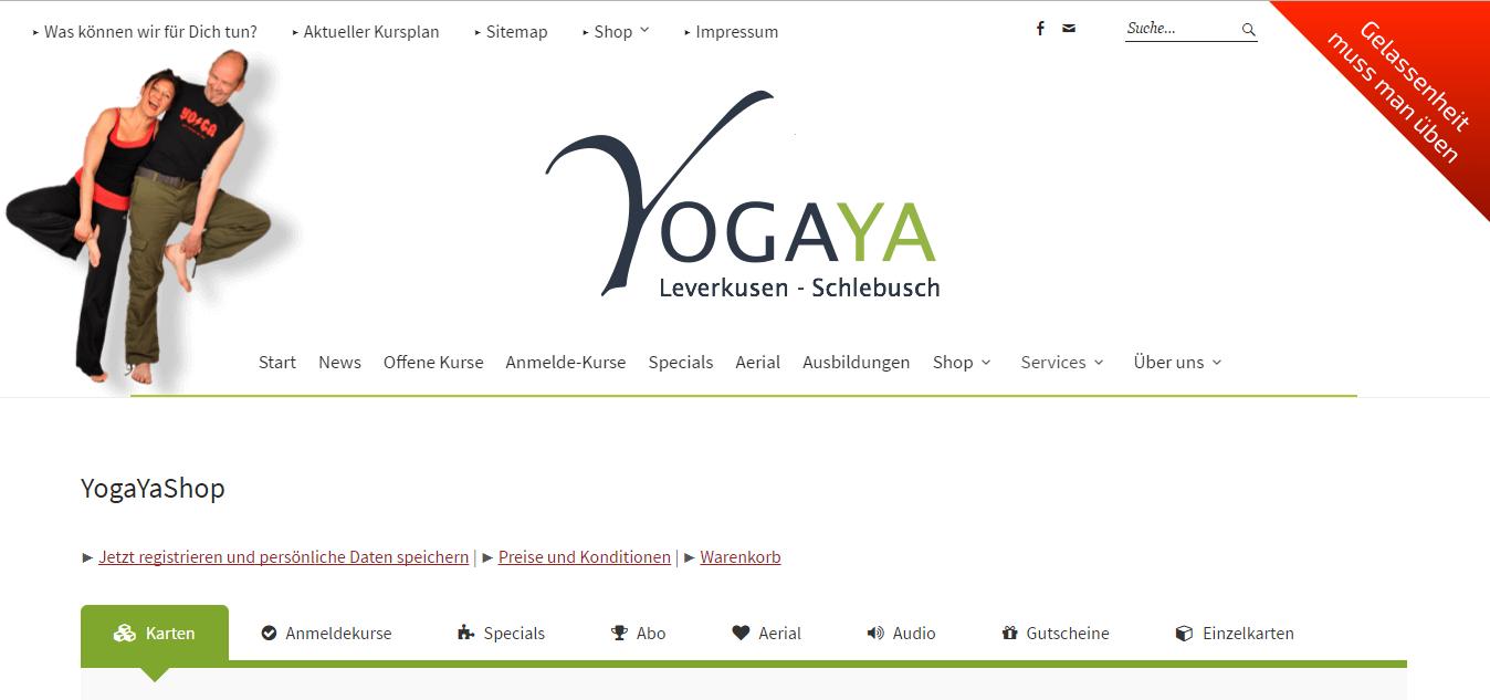 Yogakarten im Shop von yogaya.de