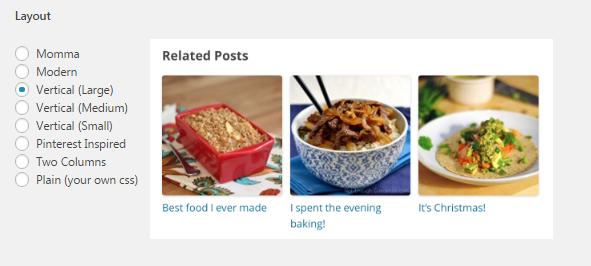 Related Posts Konfigurieren