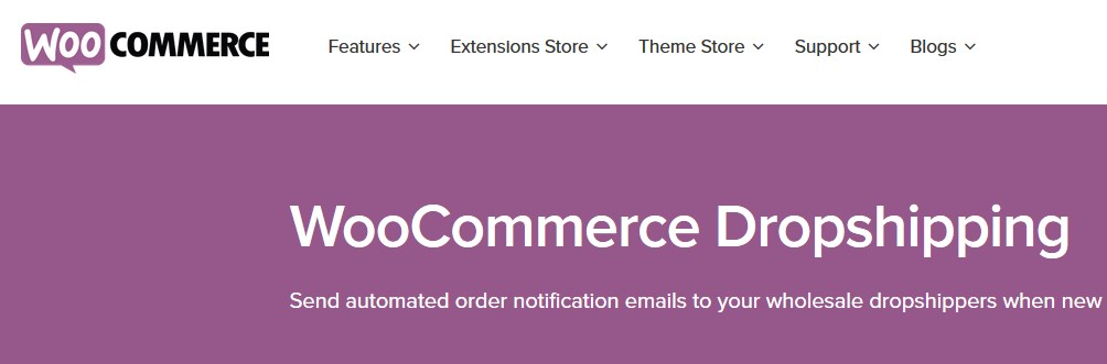 Das Dropshipping-Plugin von WooCommerce
