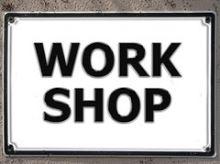 Workshops anbieten.