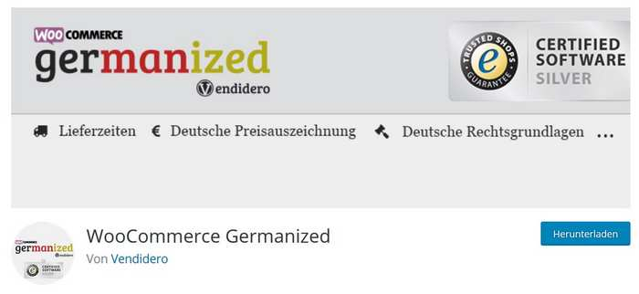WooCommerce Germanized