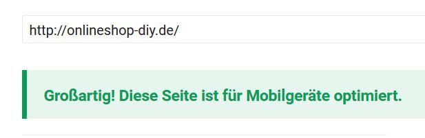 Google Mobil Check