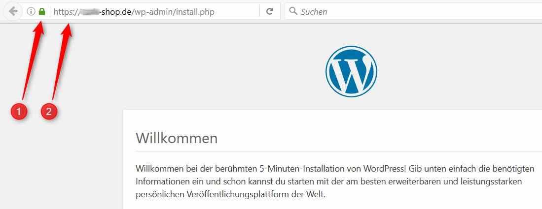 HTTPS-Installation