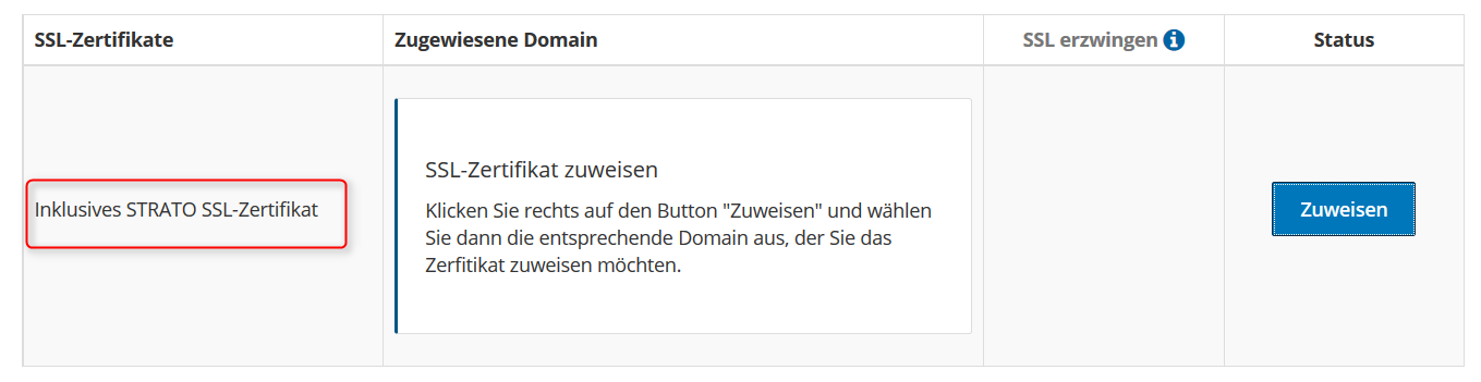 WordPress auf SSL-Domain installieren - onlineshop-diy