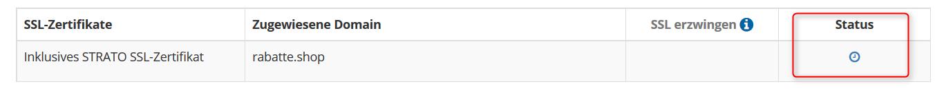 SSL-Status