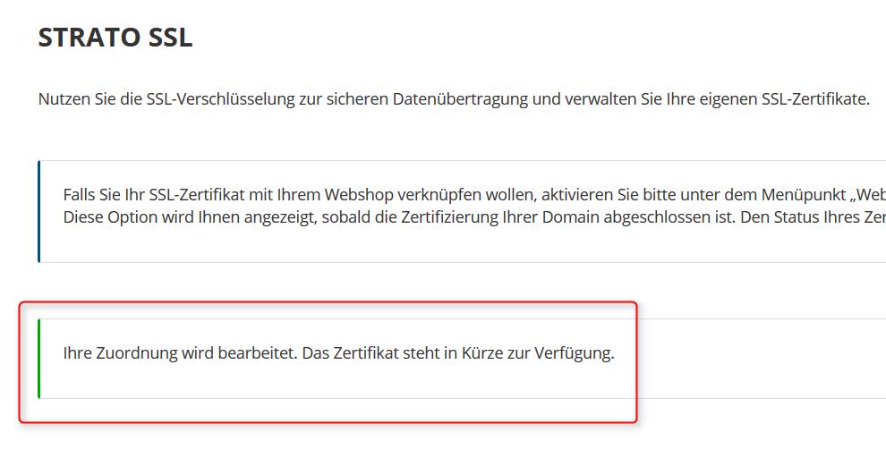 WordPress auf SSL-Domain installieren - onlineshop-diy