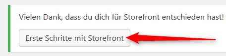 Storefront - Erste Schritte