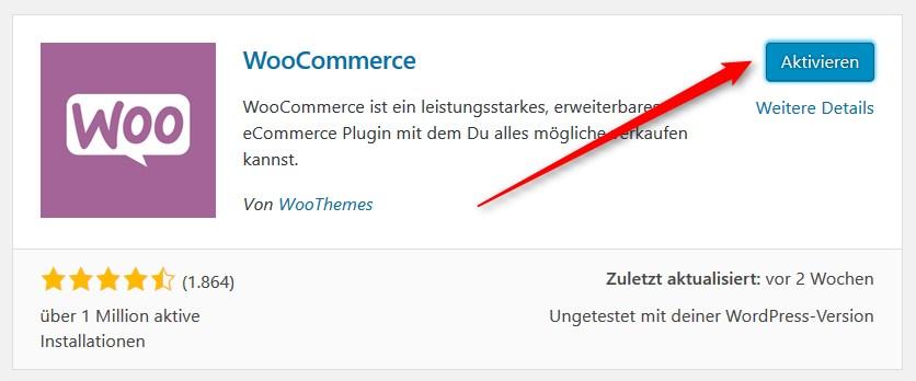 WooCommerce: Erste Schritte