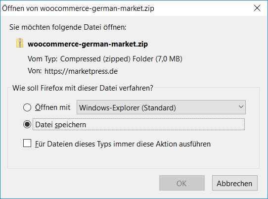 WooCommerce German Market Download