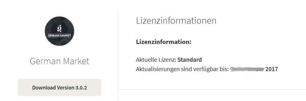 WooCommerce German Market Lizenz