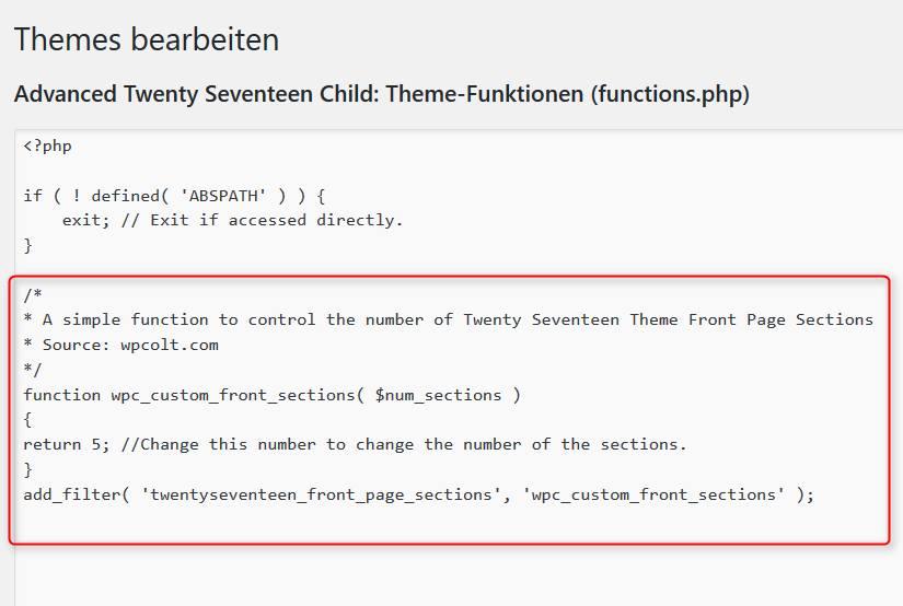 Functions-Datei ergänzt