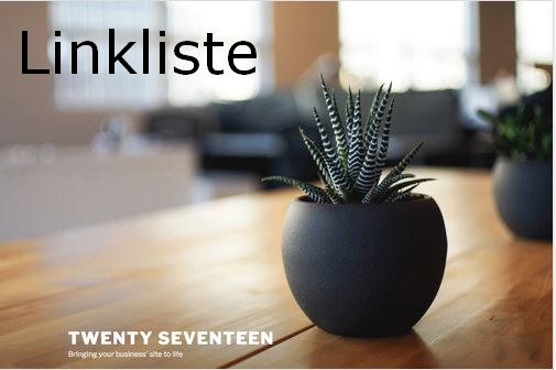 Linkliste Twenty Seventeen