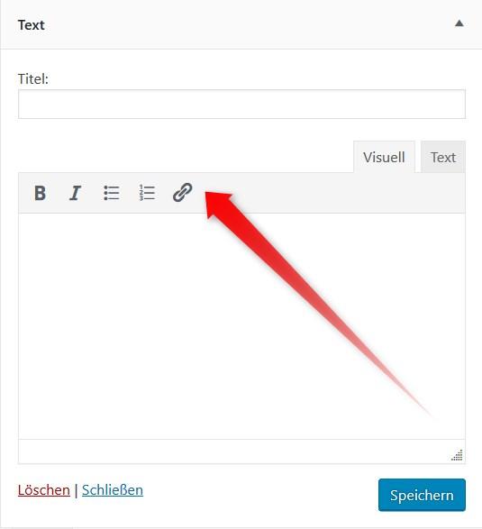 WordPress Textwidget