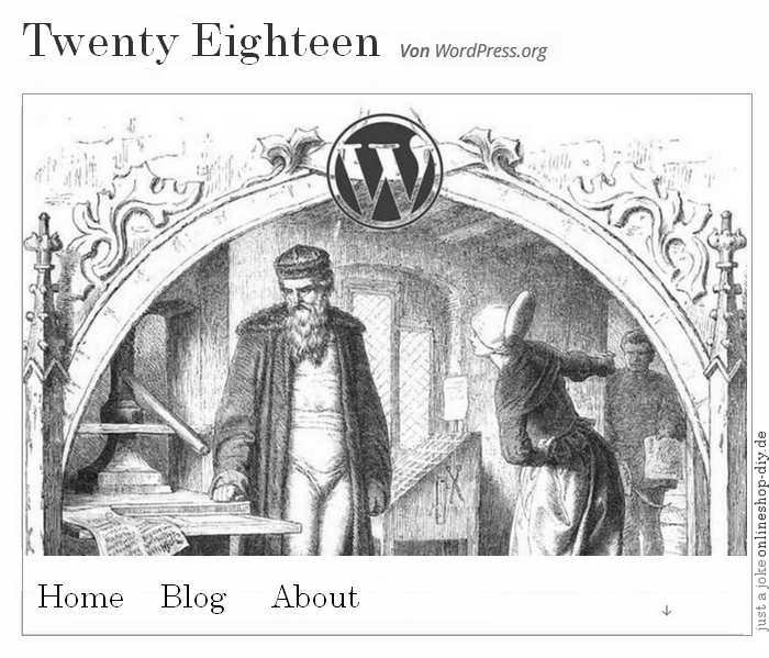 WordPress Twenty Eighteen?