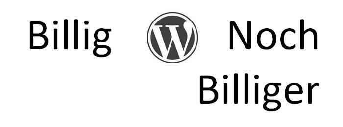 WordPress ist kostenlos, ordentliches Hosting nicht