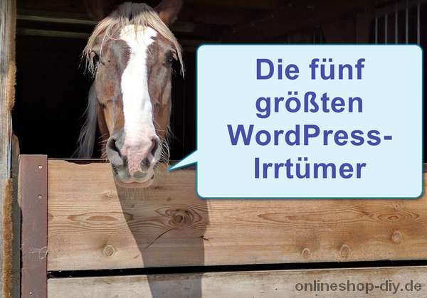 WordPress-Irrtümer