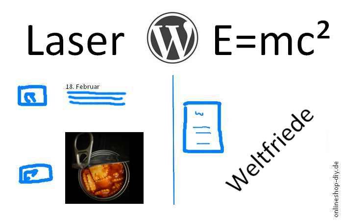 Mit WordPress geht viel, aber nicht alles
