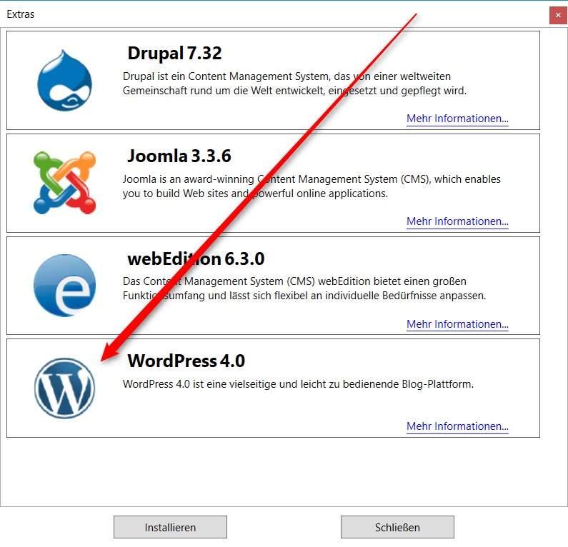 mamp plus WordPress