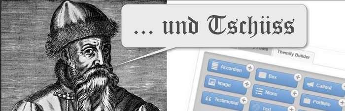 Gutenberg ersetzt Pagebuilder