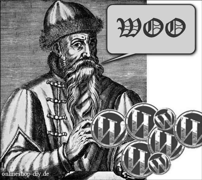 Gutenberg-Kupferstich und WordPress-Taler