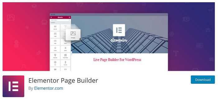 Der Pagebuilder Elementor