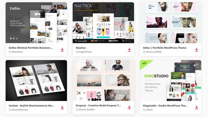 Envato WordPress Themes