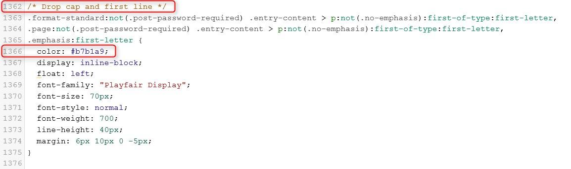 CSS-Code