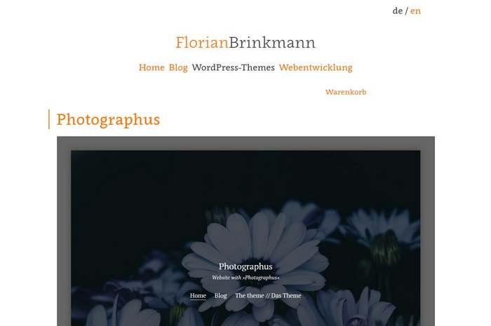 Themes von Florian Brinkmann