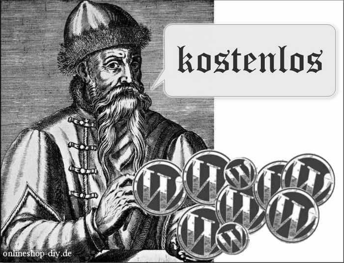 Gutenberg Kupferstich und Münzen