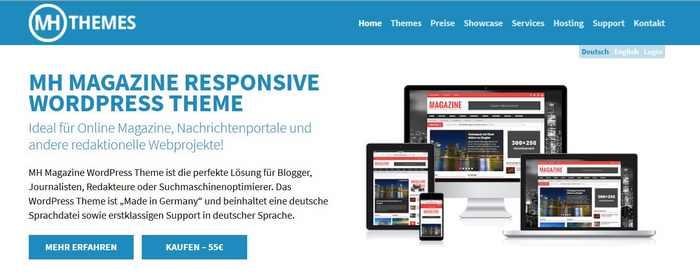 Themes deutsch MH Themes