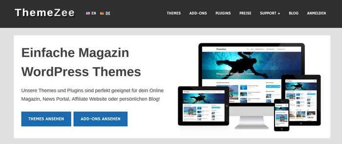 Themes deutsch: ThemeZee