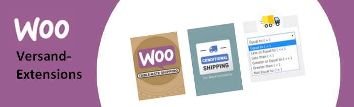 WooCommerce Versand-Plugins