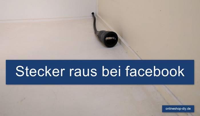 Bei Facebook abmelden