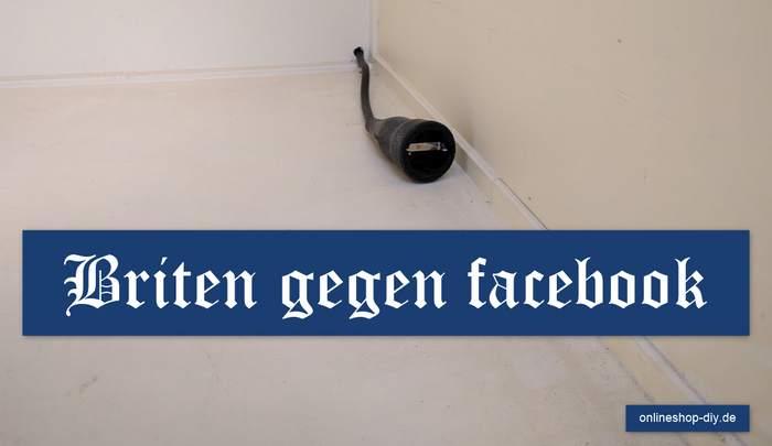 Briten gegen Facebook