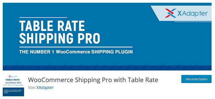 Table Rate Shipping Pro