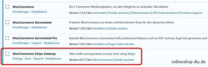 Stripe WooCommerce Plugin