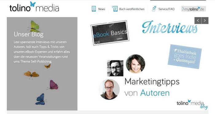 Selfpublishing mit Tolino Media