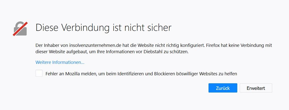 SSL-Problem