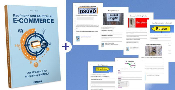 Kaufmann im E-Commerce Buch und Begleitmaterial